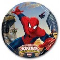 Piatto 20 cm, Ultimate Spiderman Web Warriors 8 pz
