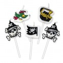 5 Candeline Picks Pirati