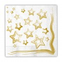 20 Tovaglioli 33 x 33 cm Golden Star