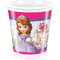 Bicchieri di plastica Principessa Sofia