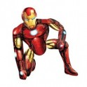 palloncino Air Walker mylar Iron Man
