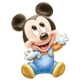 palloncino Super Shape mylar Baby Mickey Mouse