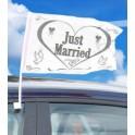 Bandiera per la finestra dell'auto