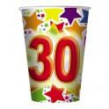 10 Bicchieri 200 cc  Stardust 30