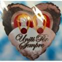 """palloncino mylar 18"""" uniti per sempre"""