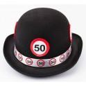 Cappello nero 50 1 pz