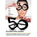 Occhiali Party numero 50
