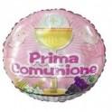 """palloncino 18"""" mylar Prima Comunione Rosa"""