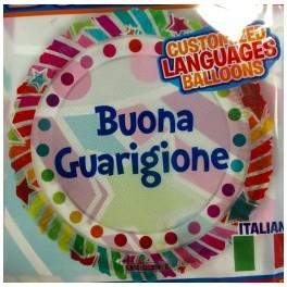 """palloncino 18"""" mylar Buona Guarigione"""