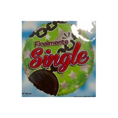 "palloncino 18"" mylar Finalmente single"