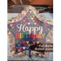 super shape HAPPY BIRTHDAY  - PALLONCINO MYLAR