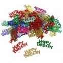 Confetti decorativi Happy Birthday