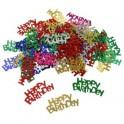 Confetti decorativi Happy Birthday