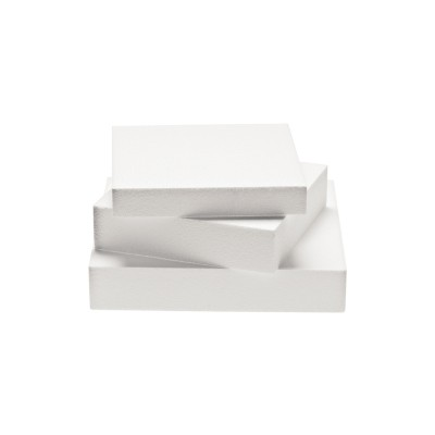 Basi quadrate in polistirolo