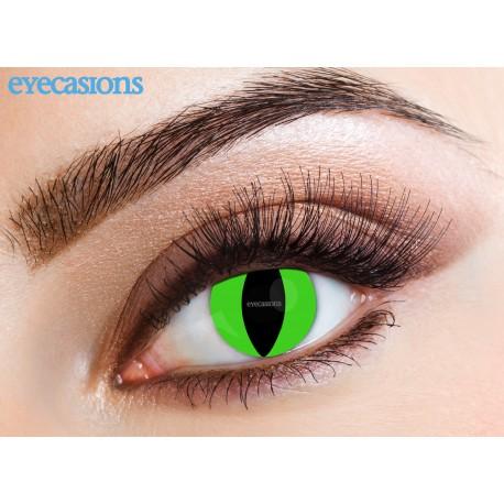Lenti a contatto colorate verde
