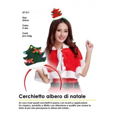 Cerchietto Albero di Natale
