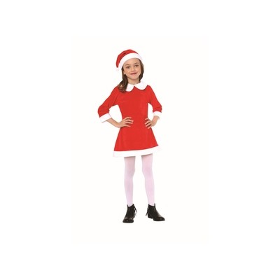 Costume Bambina Babbo Natale