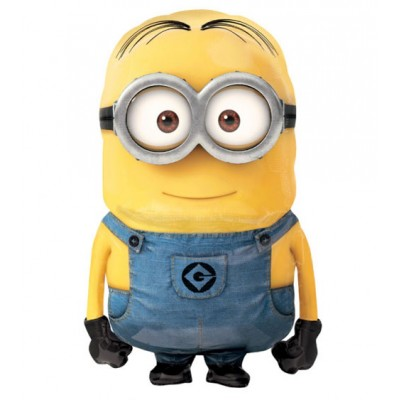 Palloncino Air Walker mylar Minion