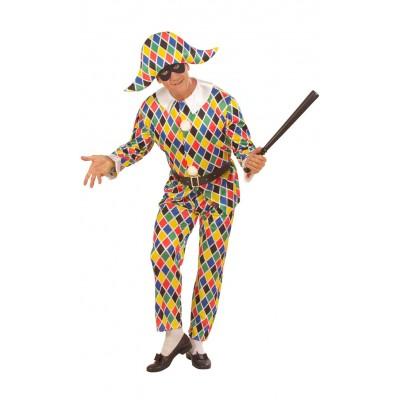 Costume Arlecchino adulto