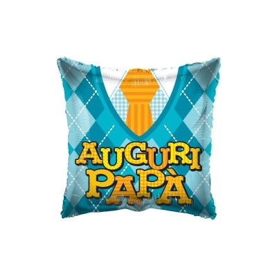 "Palloncino mylar 18"" Auguri Papà"