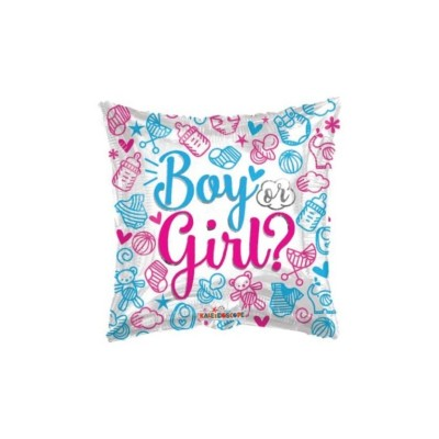 "Palloncino mylar 18""Boy or Girl ?"""