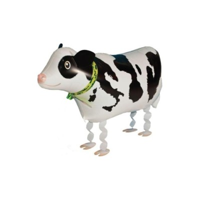 "Palloncino mylar pet walker ""mucca"""