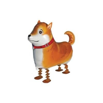 """Palloncino mylar pet walker """"Shiba"""""""