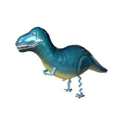 "Palloncino mylar pet walker ""tirannosauro"""
