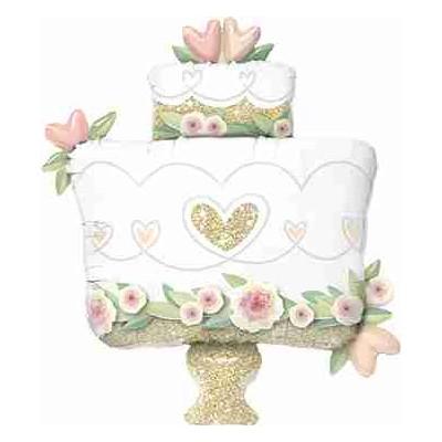 Palloncino jumbo mylar Cake wedding