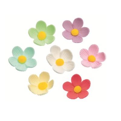 Fiorellini grandi assortiti confezione da 6 DECORA
