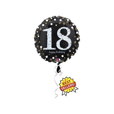 "Palloncino mylar 17"" Birthday  18"