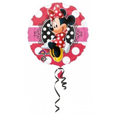 """Palloncino mylar 18"""" Minnie Portrait"""