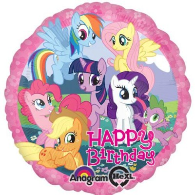 "Mylar My little pony 18""/45 cm"