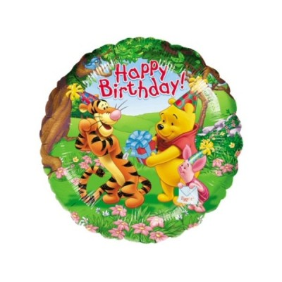"Mylar Pooh and Friends 18""/45 cm"