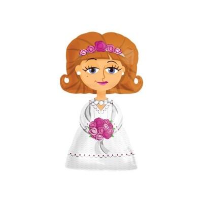 Mylar Airwalkers Bride