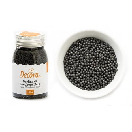 Perline di zucchero nero