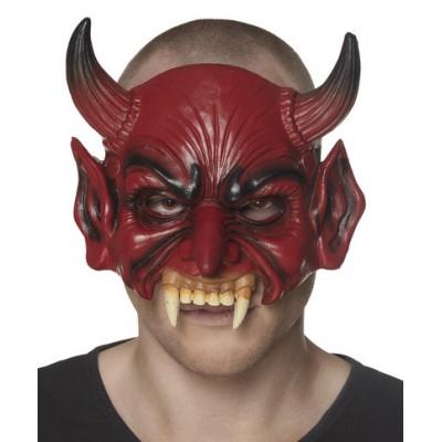 Mezza maschera diavolo
