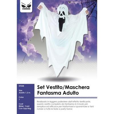 Vestito fantasma adulto