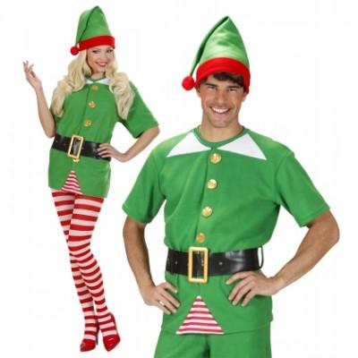 Vestito Elfo Aiutante di Babbo Natale