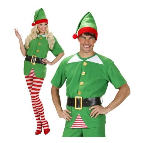 Vestito Elfo Aiutante di Babbo Natale - MagicaFesta 9fd2ea95647a