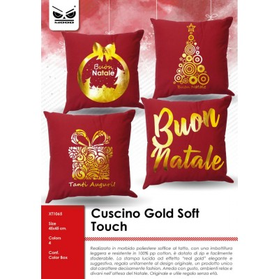 Cuscino gold soft touch