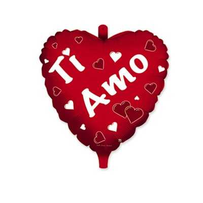 "Palloncino Mylar 36"" Ti Amo"