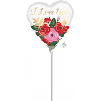 "Palloncino mylar 9""rose bouquet"