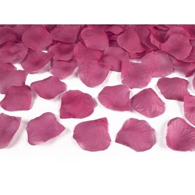 Petali rose colore fuxia