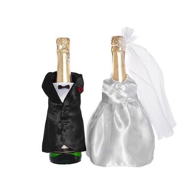 Copribottiglia degli sposi