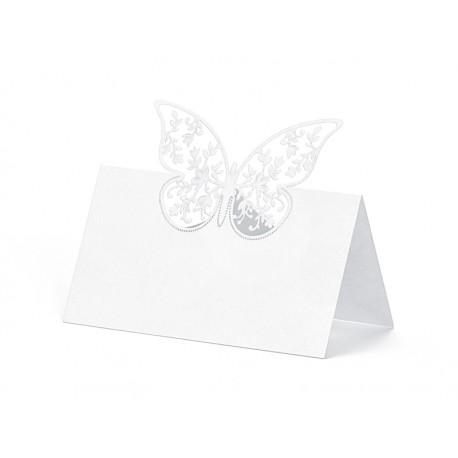 Segnaposto con farfalla
