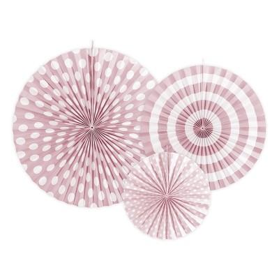 Rosette di carta rosa
