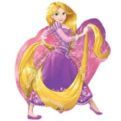 Palloncino mylar supershape Rapunzel