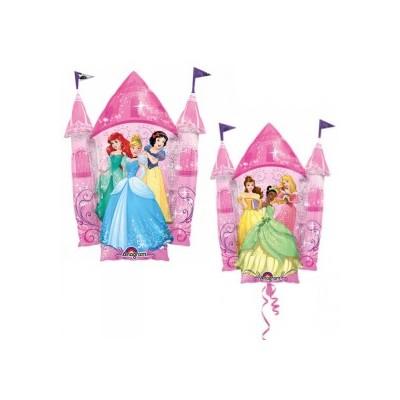 Palloncino mylar supershape castello delle principesse