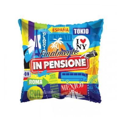 """Palloncino mylar 18"""" Finalmente in Pensione"""""""